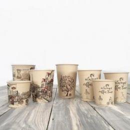 Бумажные крафт стаканчики для кофе – новый продукт