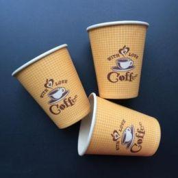Новый дизайн бумажных стаканчиков уже в производстве.
