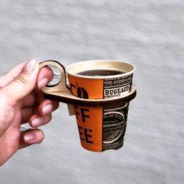 Удобство и стиль бумажного стаканчика.
